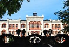 O sol da manhã em estudantes esquadra em Belgrado fotos de stock royalty free