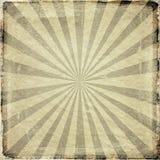 O sol do Grunge irradia o fundo ilustração do vetor