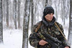 O soldado Imagens de Stock