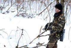 O soldado. Foto de Stock