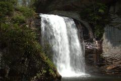 O som de quedas da água está relaxando assim Fotos de Stock