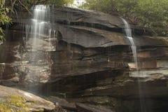 O som de quedas da água está relaxando assim Fotografia de Stock