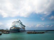 O sonho de Disney, Disney cruza, Bahamas fotografia de stock