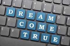 O sonho vem verdadeiro Imagens de Stock