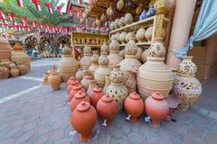 O Souq antigo de Nizwa, em Omã imagem de stock