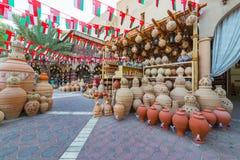 O Souq antigo de Nizwa, em Omã imagem de stock royalty free