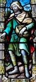 O Sower no vitral Foto de Stock Royalty Free