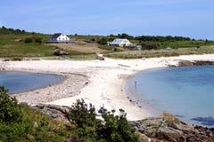 O St. Agnes da barra de areia Imagem de Stock