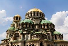 O St. Alexander Nevsky Cathedral Foto de Stock