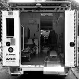 O St John Ambulance presta serviços de manutenção a Nova Zelândia Fotografia de Stock Royalty Free