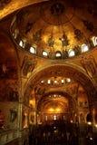 O St marca a basílica Veneza Italy de s fotografia de stock royalty free