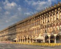 O St marca o quadrado do `s, Veneza. Imagens de Stock Royalty Free