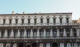 O St marca o quadrado em Veneza Fotografia de Stock Royalty Free