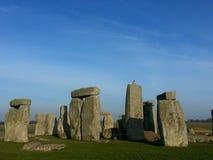 O Stonehenge famoso e misterioso em Inglaterra. imagens de stock royalty free