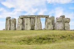 O Stonehenge misterioso fotografia de stock royalty free