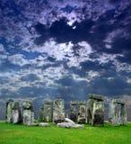 O Stonehenge no Reino Unido imagens de stock
