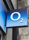 O2 Store in London Royalty Free Stock Photography