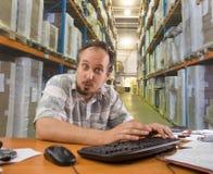 O storekeeper Imagens de Stock Royalty Free