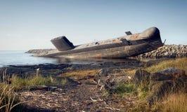 O submarino de inclinação Imagens de Stock