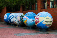 O subterrâneo, Atlanta, GA Imagens de Stock