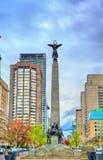 O sul - memorial de guerra africano na avenida da universidade em Toronto, Canadá Imagem de Stock