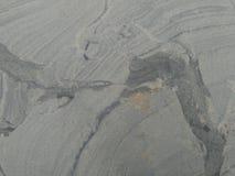 O sulco de uma rocha imagens de stock