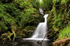 O'Sullivan kaskada - Irlandia Fotografia Royalty Free
