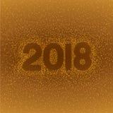 O sumário acende a luz em um formulário de 2018 Fotografia de Stock Royalty Free