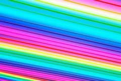 O sumário alinha o fundo colorido Imagens de Stock