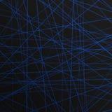 O sumário alinha o laser para o fundo Fotos de Stock Royalty Free