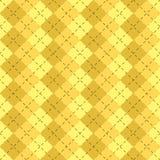 O sumário amarelo forma a matéria têxtil Fotos de Stock Royalty Free