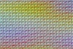 O sumário coloriu o teste padrão sujo do fundo com textura da roupa ilustração stock