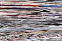 O sumário de papel pagina o fundo Fotos de Stock Royalty Free