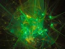O sumário digital abstrato do fractal do Fractal torna digital, disco, negócio, propaganda, Foto de Stock