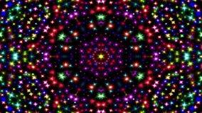 O sumário explode do teste padrão simétrico liso do conceito da propagação o movimento decorativo decorativo do caleidoscópio geo ilustração do vetor