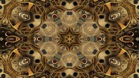 O sumário explode do teste padrão simétrico liso do conceito da propagação o movimento decorativo decorativo do caleidoscópio geo ilustração royalty free