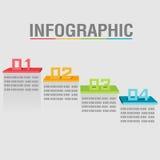 O sumário gráfico da cor da camada da informação arquiva o vetor Ilustração Royalty Free