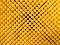 O sumário pontilha o fundo em cores amarelas Fotos de Stock
