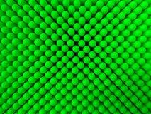 O sumário pontilha o fundo em cores verdes Fotografia de Stock Royalty Free