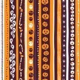 O sumário sem emenda do fundo da laranja, do branco e do pirple listrou o pa Imagem de Stock Royalty Free