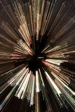 O sumário zumbiu árvore de Natal Imagem de Stock Royalty Free