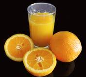 O sumo de laranja Fotografia de Stock