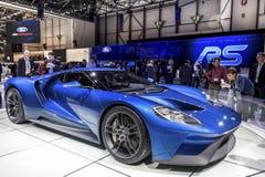 O supercarro novo de Ford GT Fotos de Stock Royalty Free