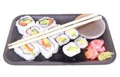 O sushi leva embora Imagem de Stock Royalty Free