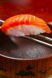 Sushi Salmon imagens de stock royalty free