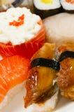 Sushi Salmon fotografia de stock