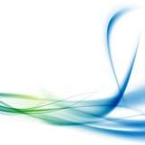 O swoosh do certificado da alta tecnologia alinha o molde Imagens de Stock Royalty Free