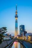 O Tóquio Skytree foto de stock