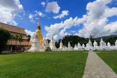 O túmulo da família real de Chiang Mai Imagens de Stock Royalty Free