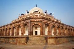 O túmulo de Humayan, o túmulo de Humayun - Índia de Deli Fotografia de Stock